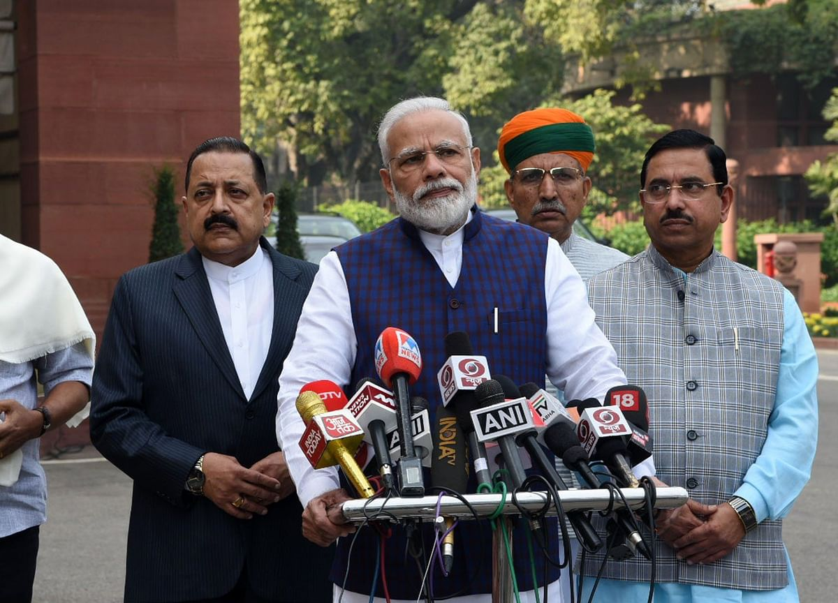 Need To Separate Checking From Clogging: PM Modi On Parliament Disruptions