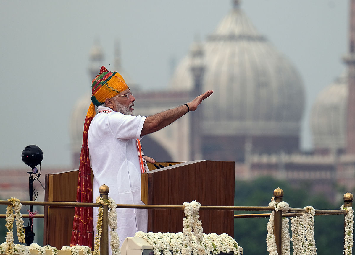 Prime Minister Modi To Address Nation From Red Fort On 74th Independence Day