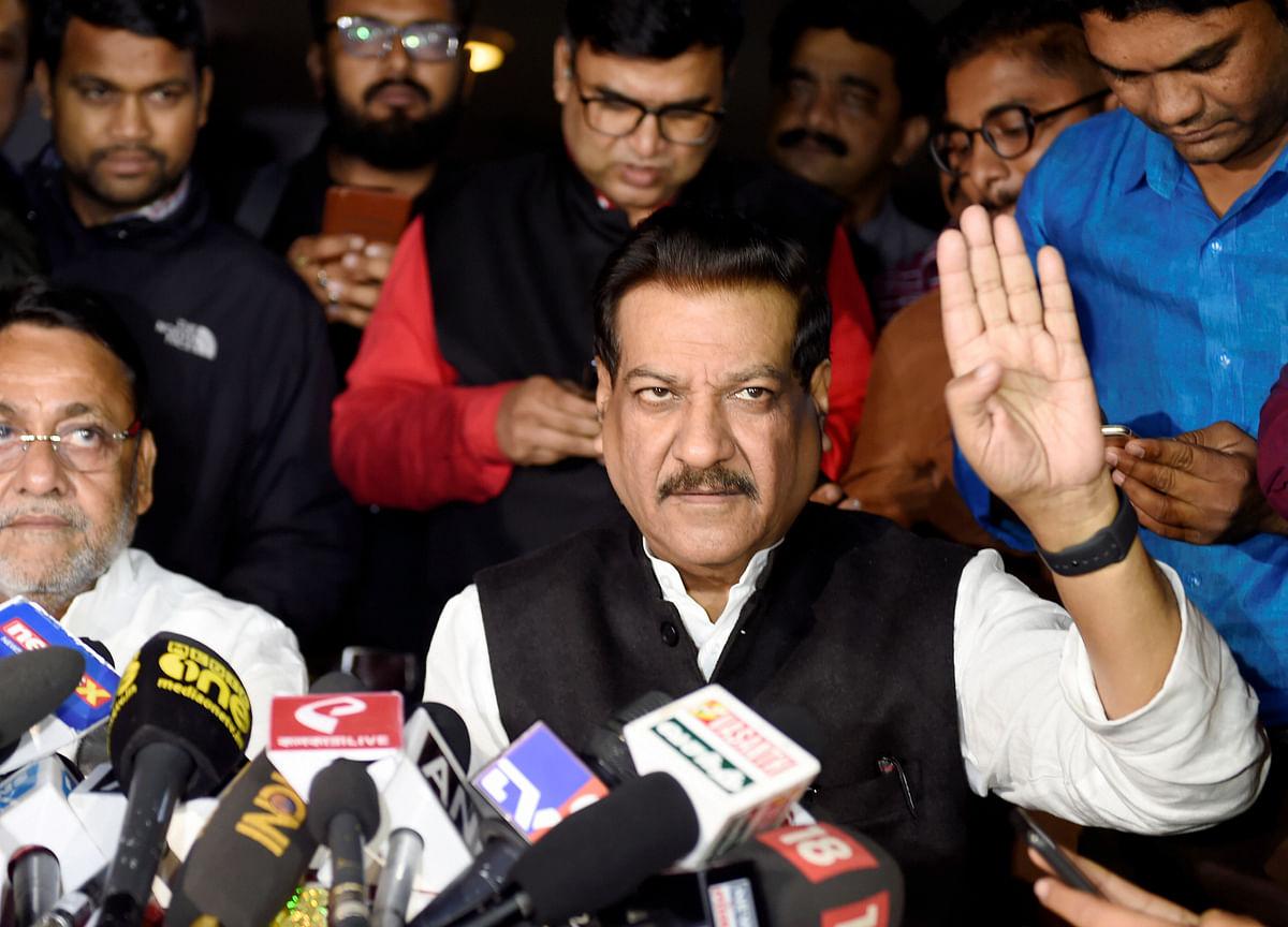 NCP-Congress In 'Complete Unanimity'; Desicion On Alliance Tomorrow, Says Prithviraj Chavan