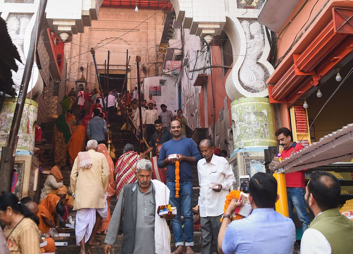 Temple Town Buzzes With Activity A Day After Supreme Court's Ayodhya Verdict