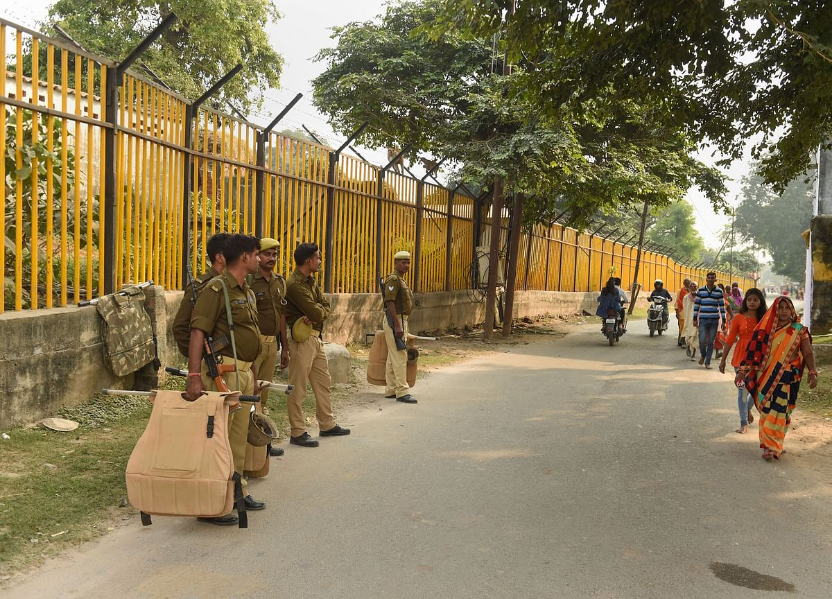 Delhi Police Beefs Up Security Ahead Of Ayodhya Verdict