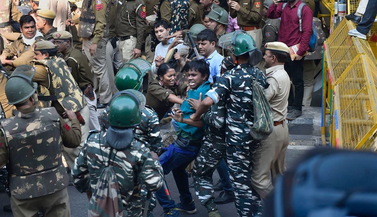 Delhi Police Register FIR In JNU Students' Protest Case