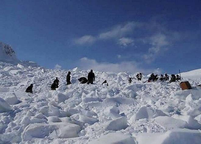 Eight-Member Army Team Hit By Avalanche In Northern Siachen