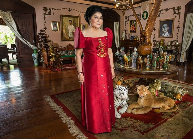 In Imelda Marcos's World, Wealth Takes a Backseat to Power