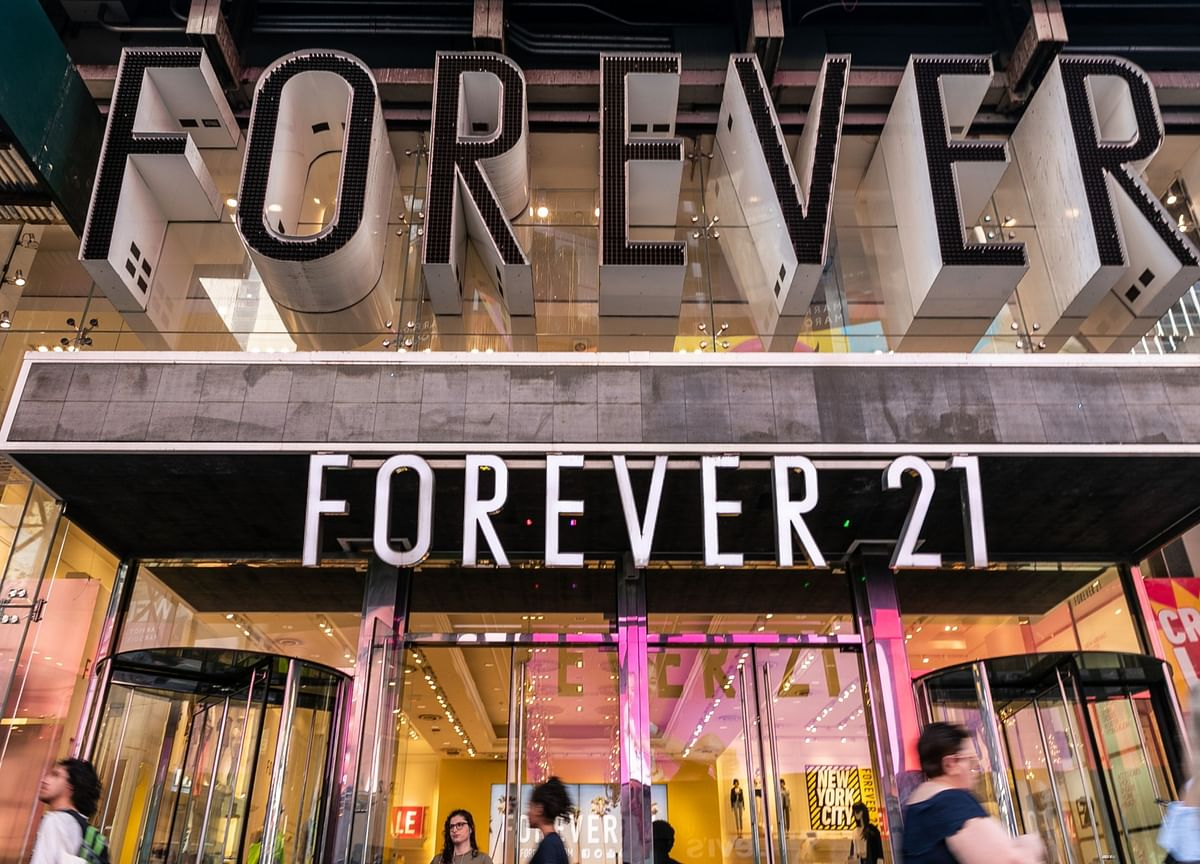 Forever 21 Accused by Creditor of Inflating Sales Projections