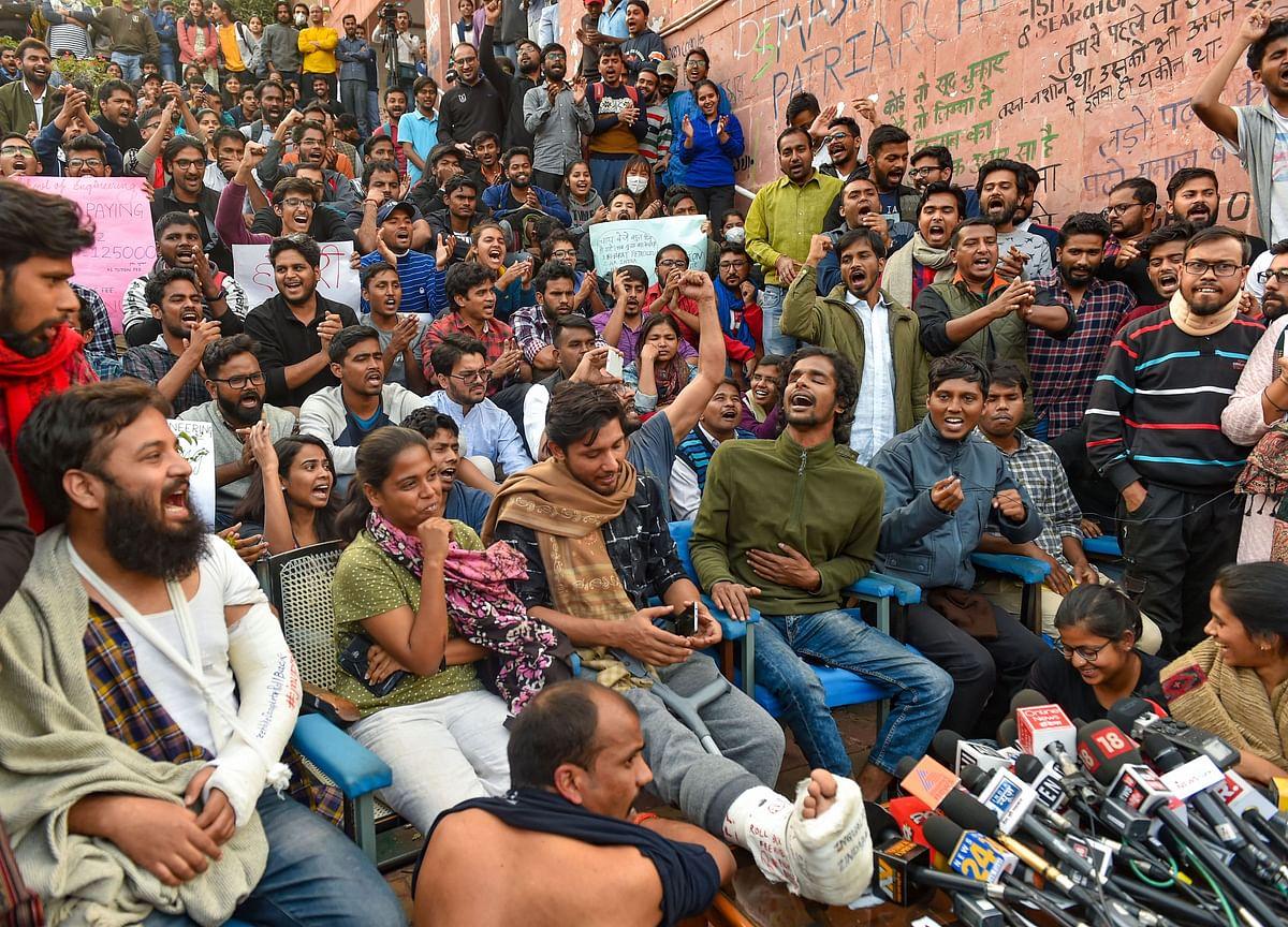 JNU Seeks Contempt Action Against Students, Police For Violating Court Order