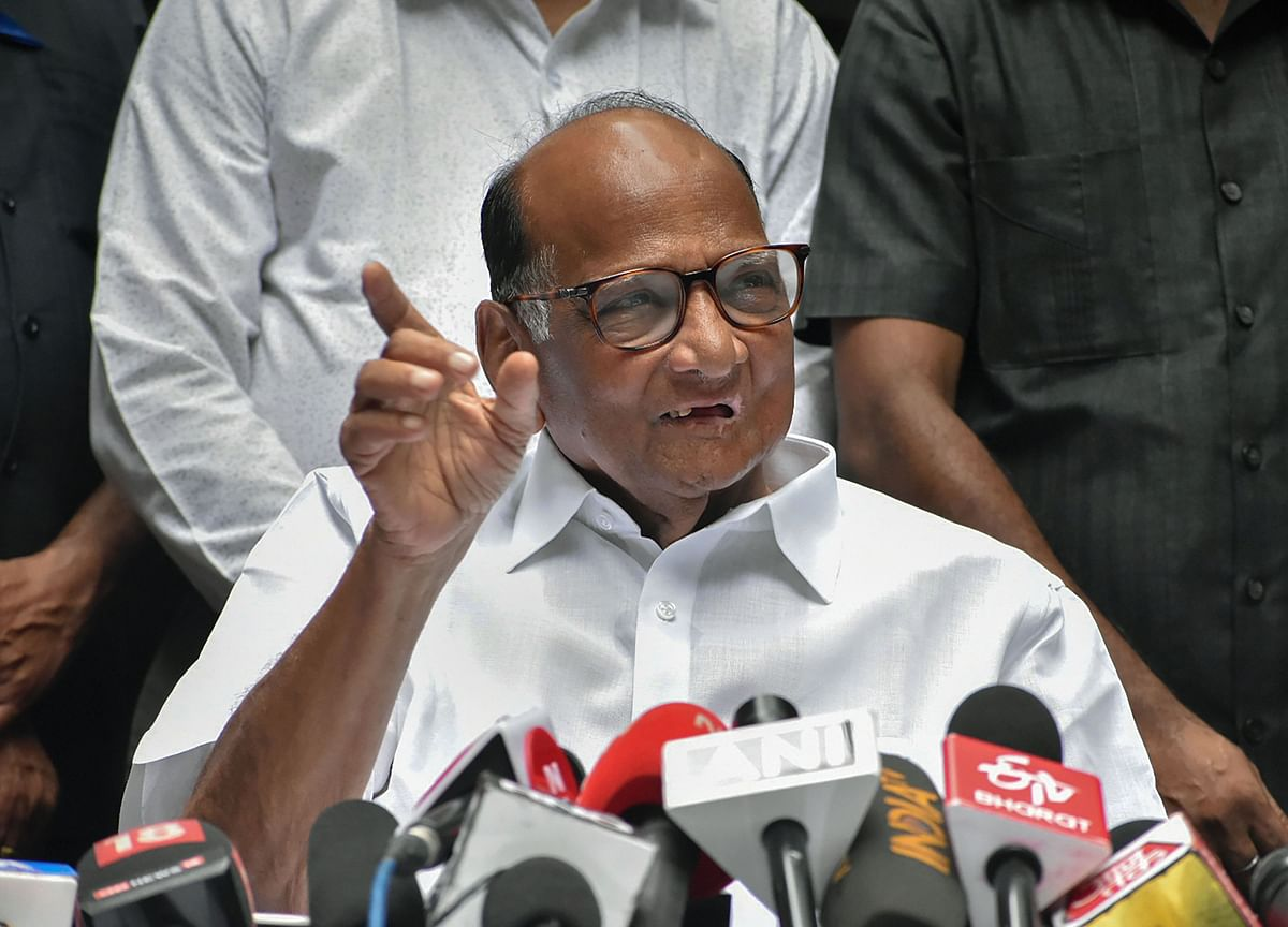 Sharad Pawar Says BJP-Shiv Sena Should Form Maharashtra Government, Congress-NCP Will Sit In Opposition