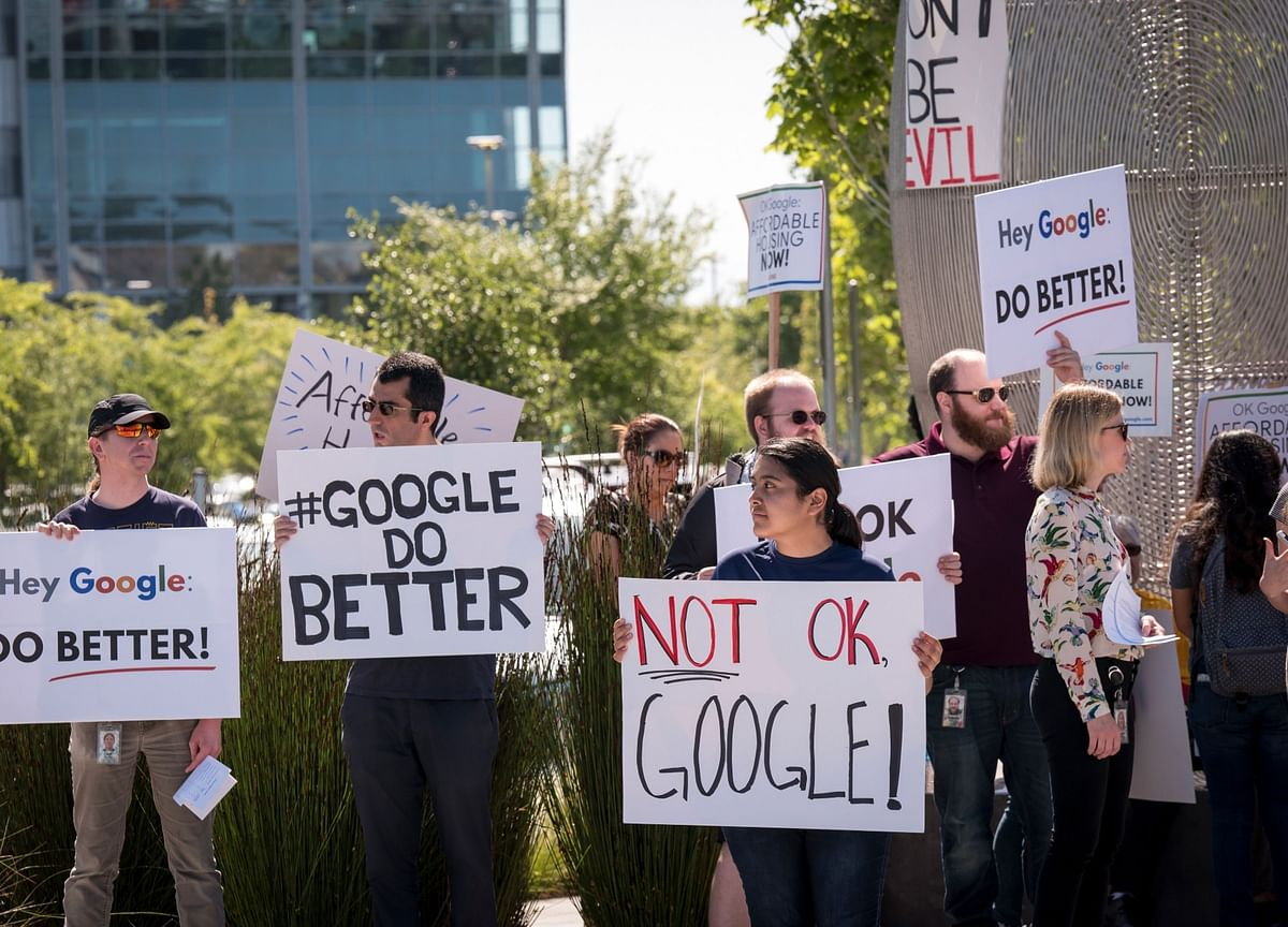 Alphabet Seeks Quiet End to Investor Suits Over Sex Harassment