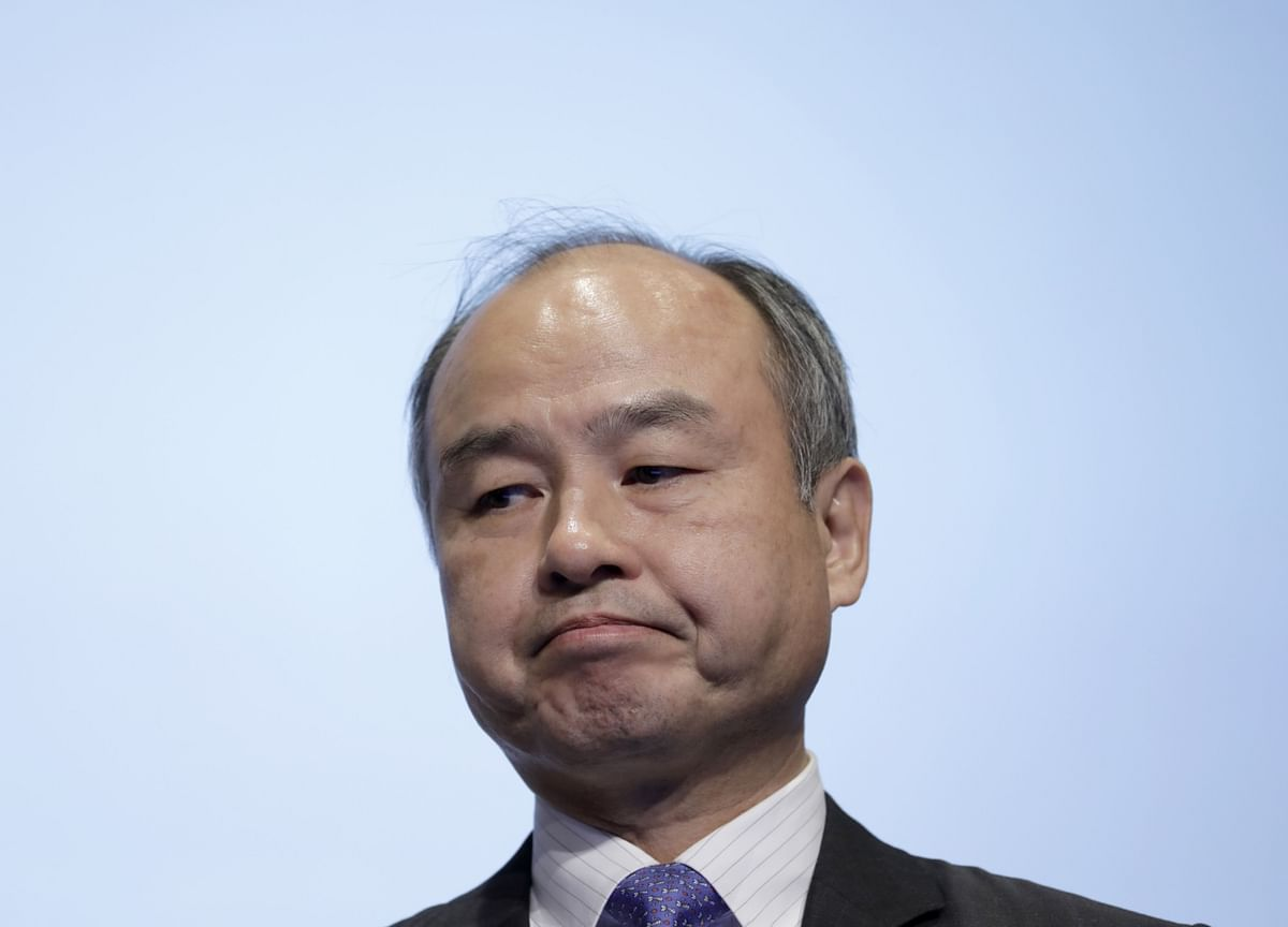 Masayoshi Son's Bankers Are Worried About Their Favorite Client