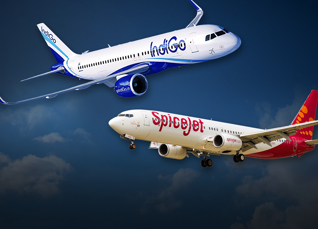 Two Key Things That Keep IndiGo Ahead Of SpiceJet