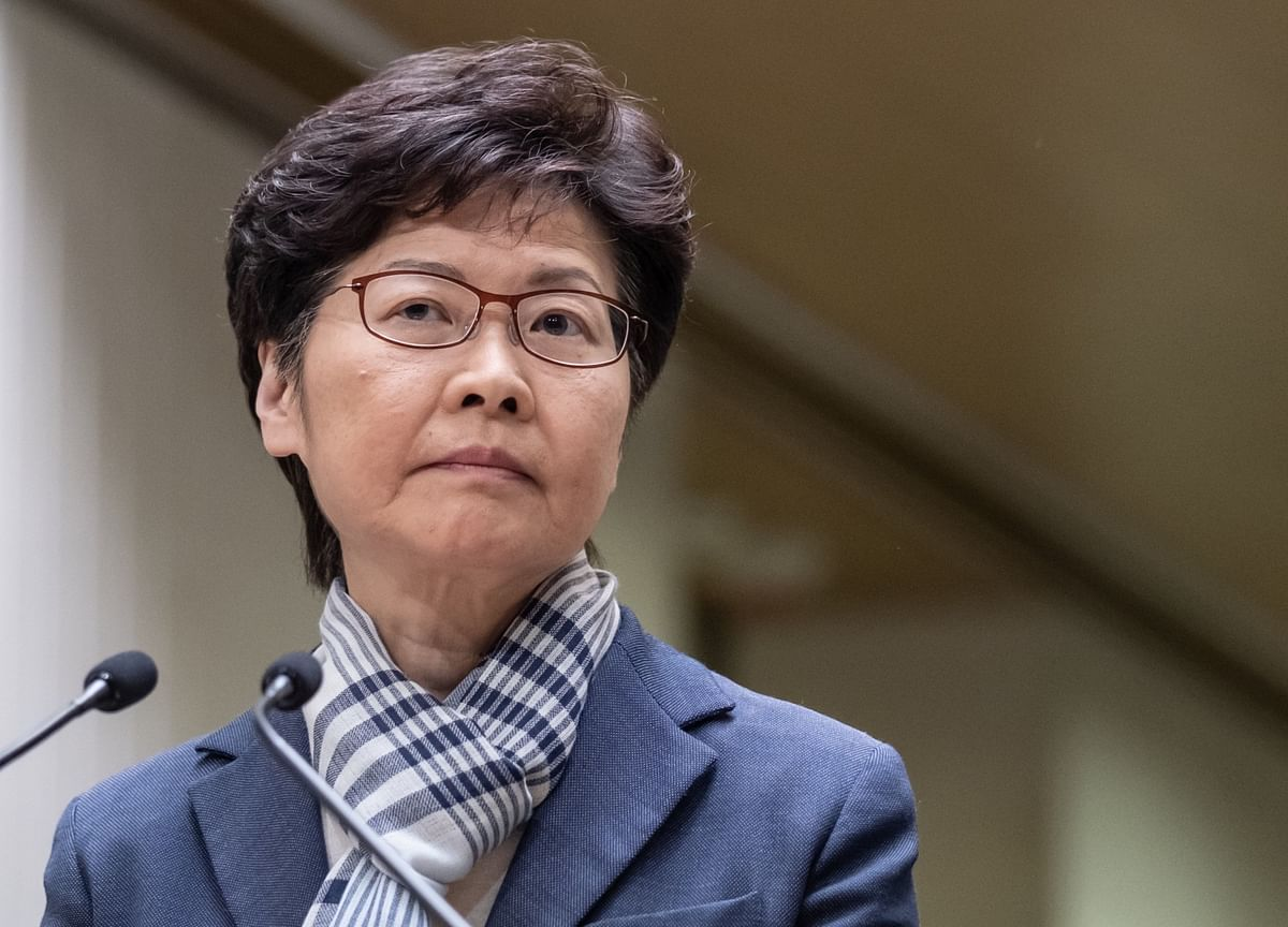 Hong Kong's Lam to Meet Officials in Beijing Amid Protests