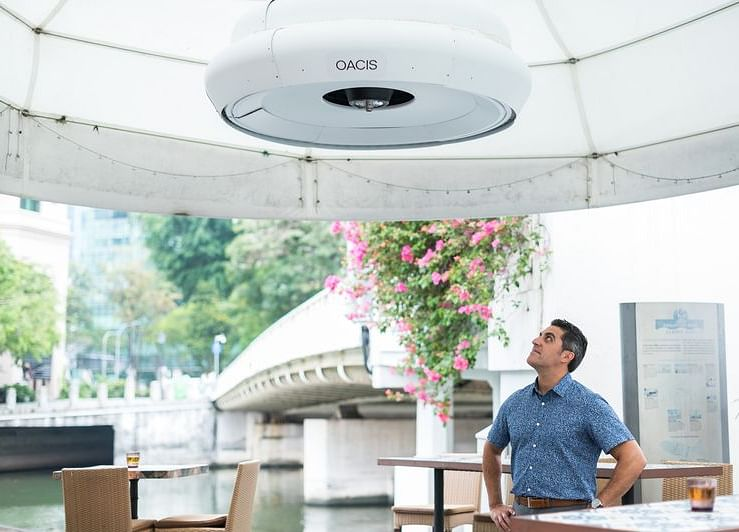 A Singapore-Backed Startup Wants to Reinvent the Outdoor Fan