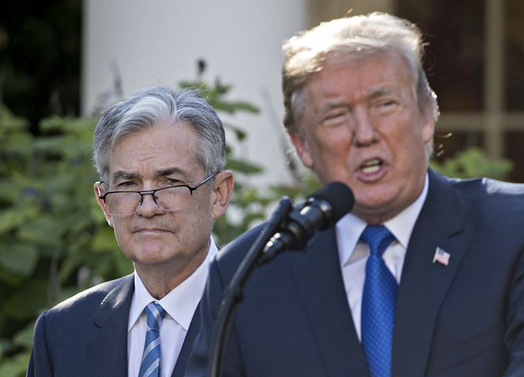Trump and Powell Put Trade, Fed Center Stage