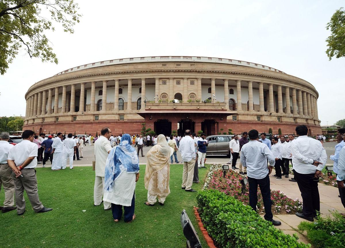 Opposition Protests In Lok Sabha Over Divestment Of PSUs, Electoral Bonds