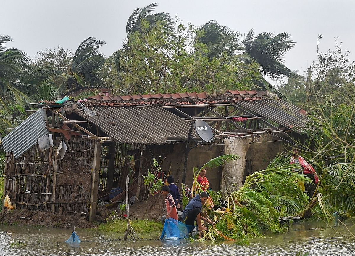 Cyclone Bulbul: 10 Killed, 2.73 Lakh Families Affected In West Bengal