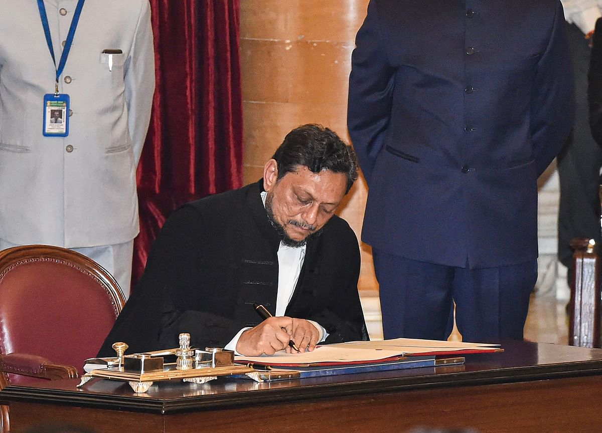 Justice Bobde Takes Oath As  Chief Justice Of India