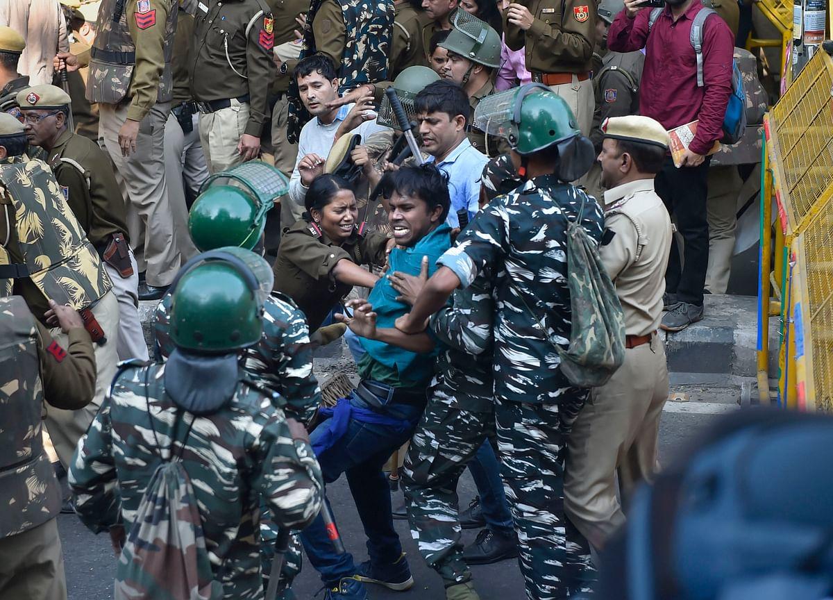 Police Register FIR In JNU Students' Protest Case