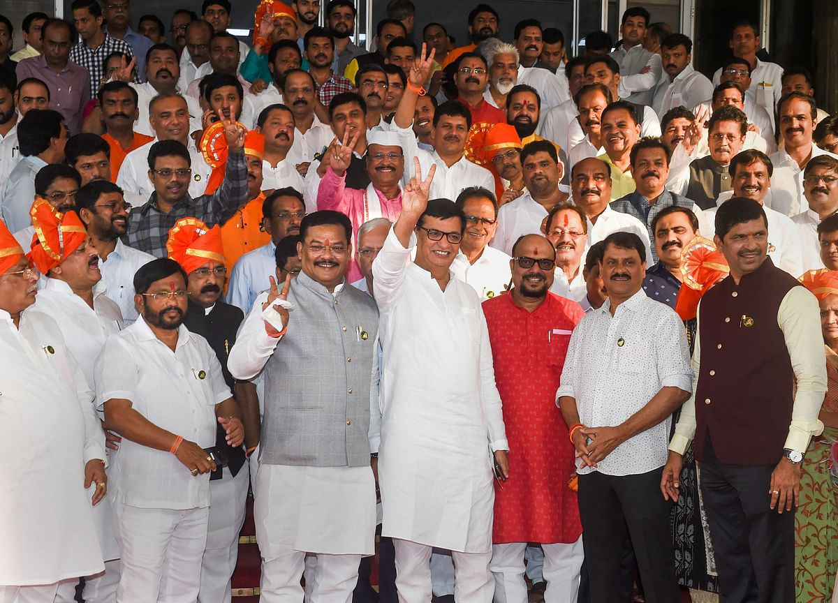 Uddhav Thackeray-Led Maha Vikas Aghadi Wins Floor Test In Maharashtra