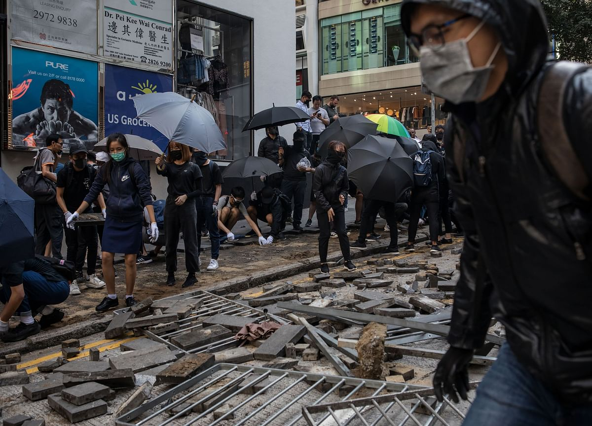 How Fake News and Rumors Are Stoking Division in Hong Kong