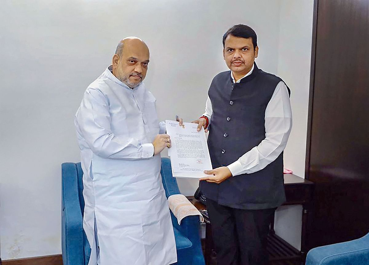 Devendra Fadnavis Meets Amit Shah In Delhi, Says Need To Form Government At Earliest