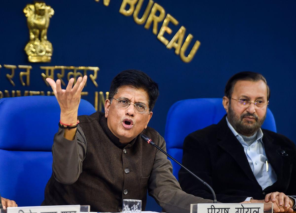 Restructuring Railways Board Will End Departmentalism, Says Piyush Goyal