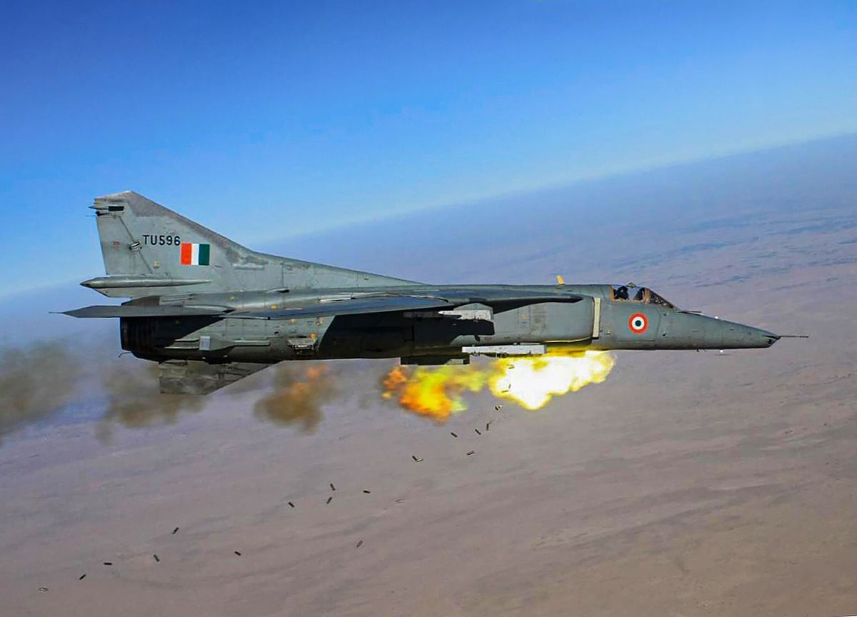 Indian Air Force Bids Farewell To MiG-27