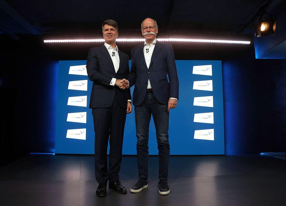 BMW-Daimler Ride-Hailing Venture Steps Up Uber Challenge