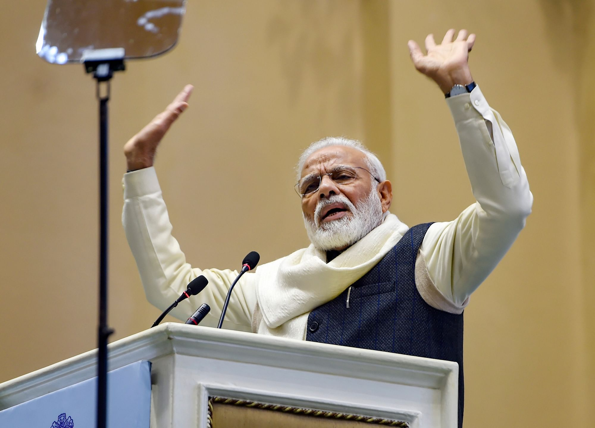 India Developing Rapidly, Only Vested Interests Causing Unrest, Says PM Modi