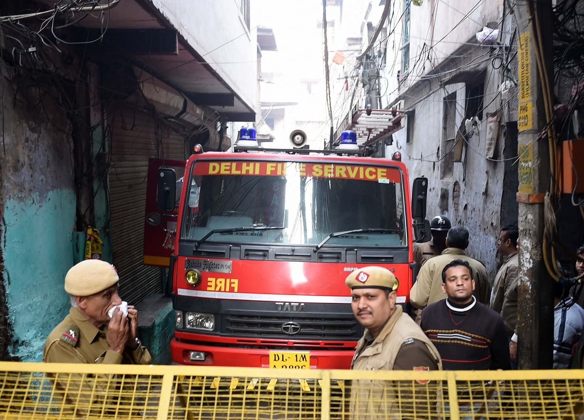 NHRC Issues Notice To Delhi Government, NMDC, Police Commissioner On Anaj Mandi Fire 'Catastrophe'