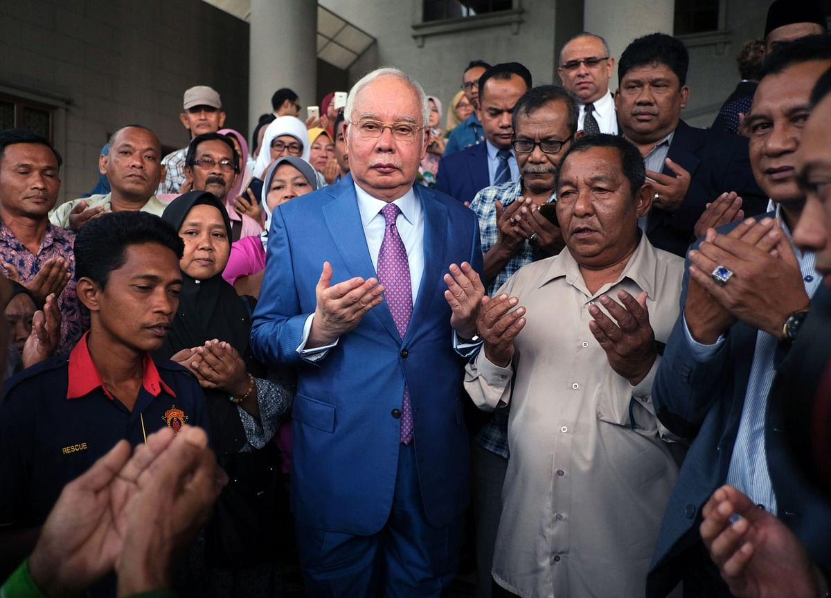 Najib Testifies to Defend Against 1MDB Corruption Charges
