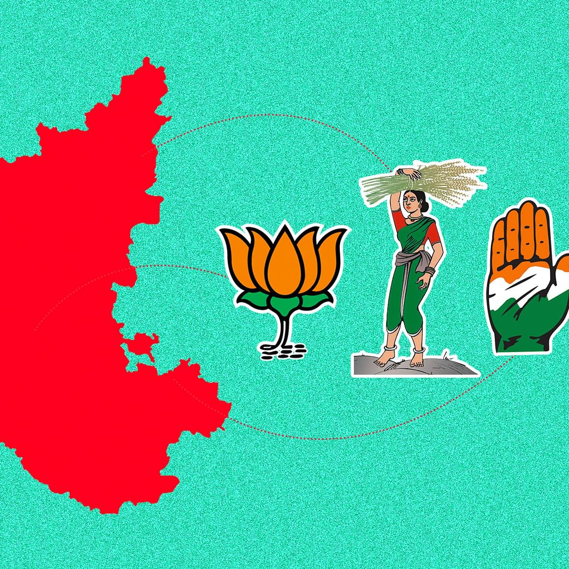 Congress-JD(S) Win Four Seats, Bag BJP Bastion Ballari
