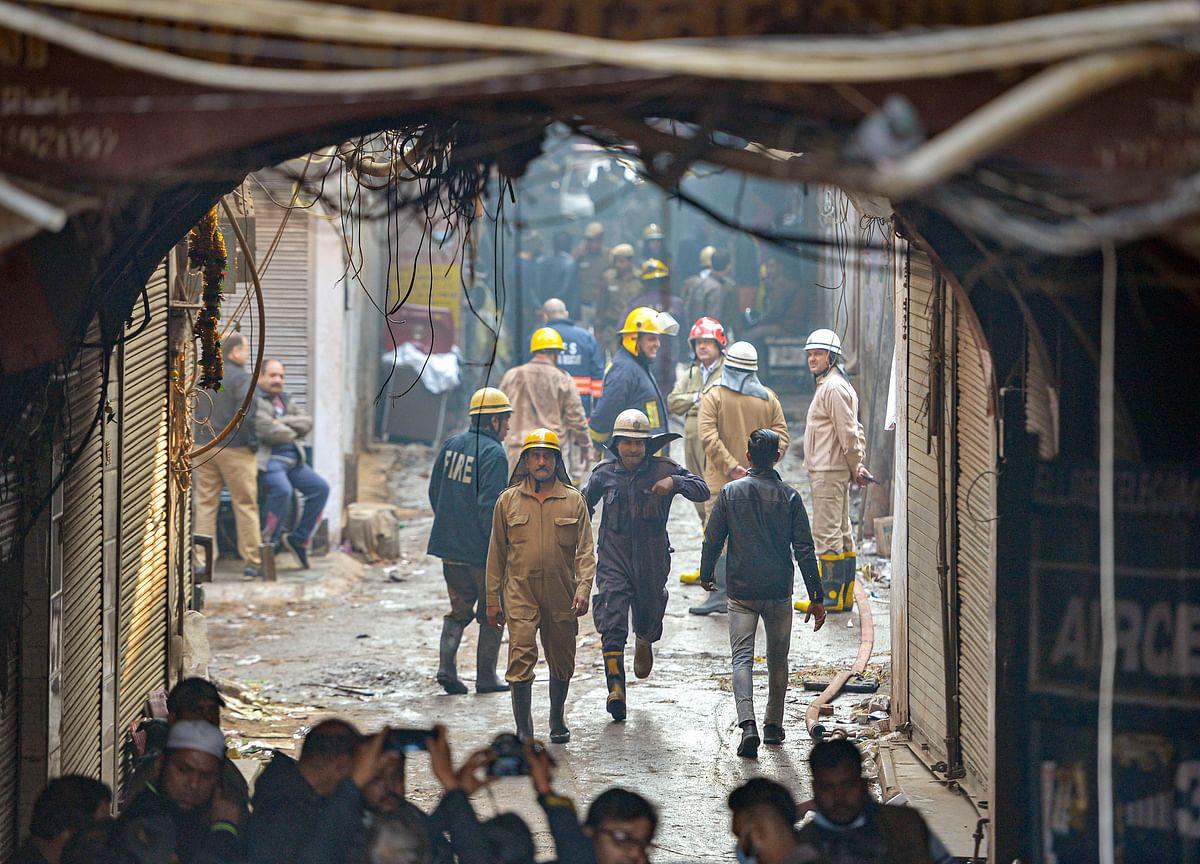 At Least 43 People Die in New Delhi Factory Fire