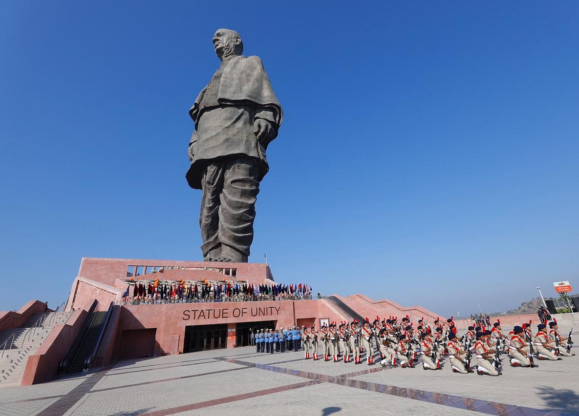 Statue Of Unity Surpasses Daily Average Footfall At USA's Statue Of Liberty