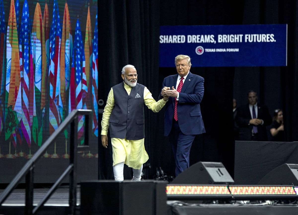 It'll Be 'Namaste Trump' in India After 'Howdy Modi' in Texas