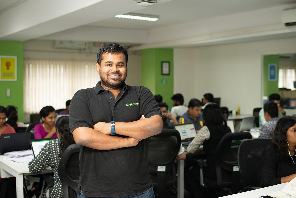 Thirukumaran Nagarajan, Co-founder and CEO Ninjacart. (Photo: Ninjacart)