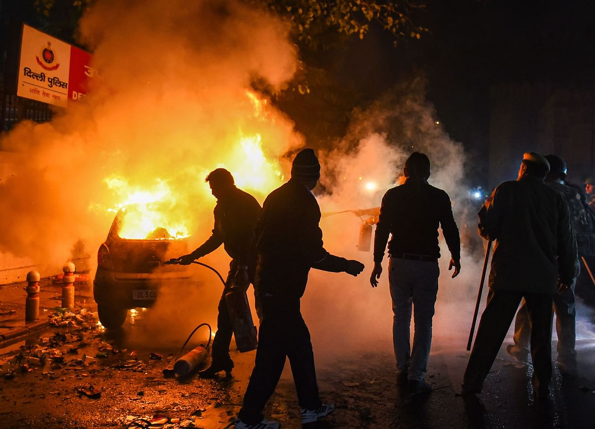 40 Detained In Connection With Violent Protest In Delhi's Daryaganj