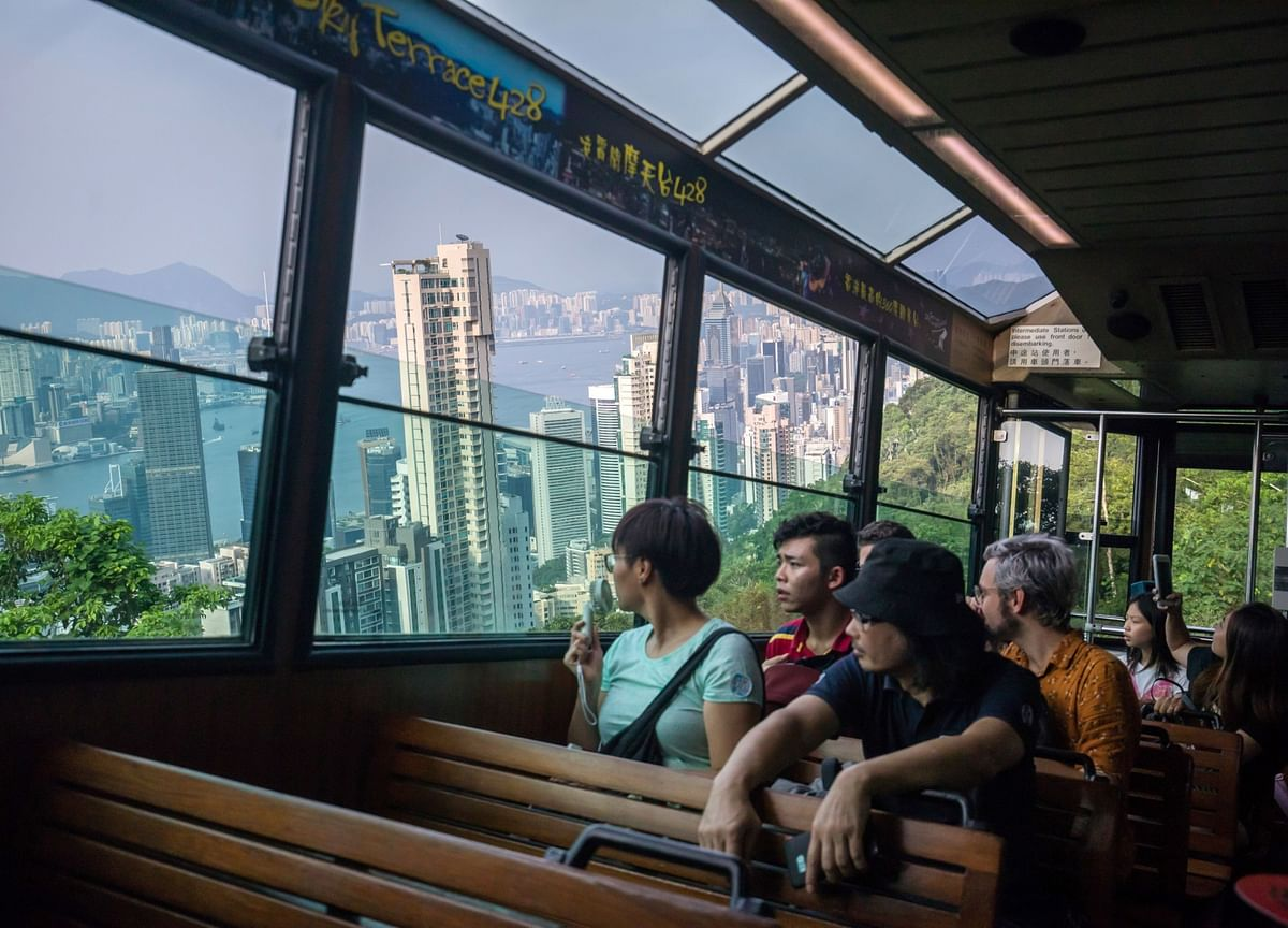 A Catastrophic Drop in Tourism Haunts Hong Kong in the New Year
