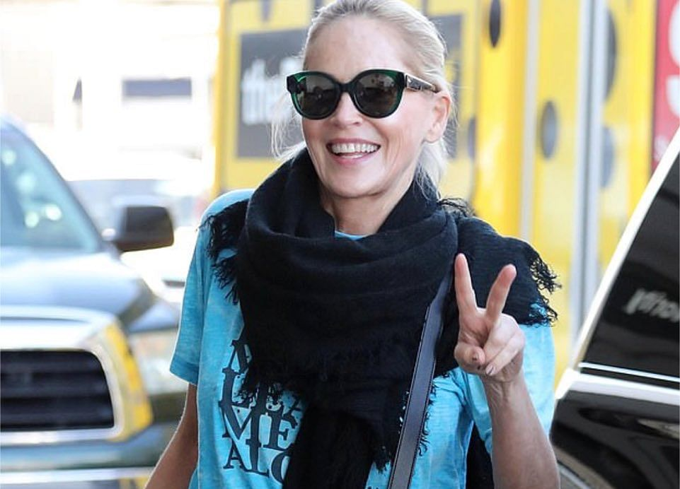 Sharon Stone Is Back on Bumble After 'Fake Profile' Blunder