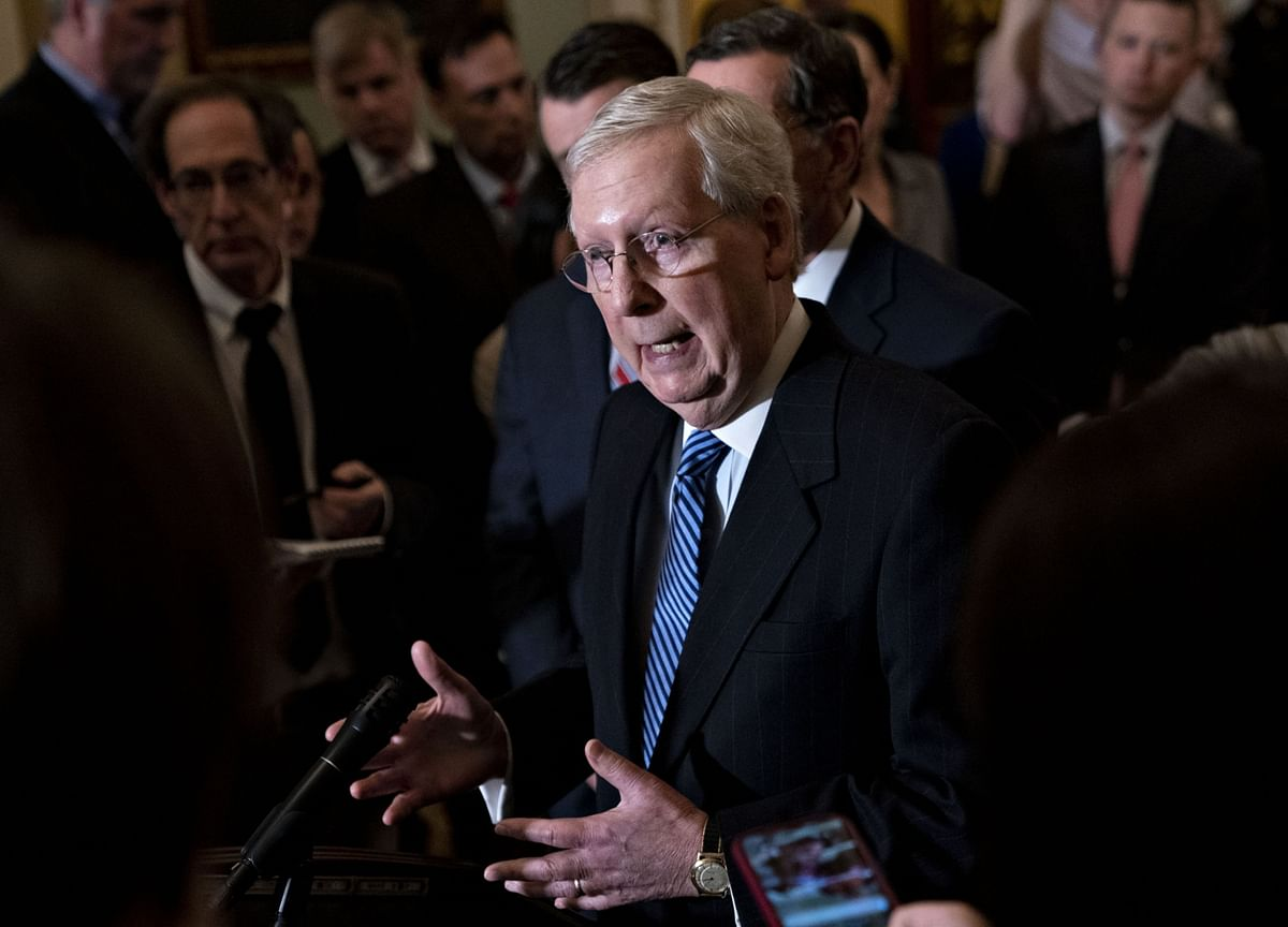 McConnell Says Republicans Have Votes to Set Trump Trial Terms