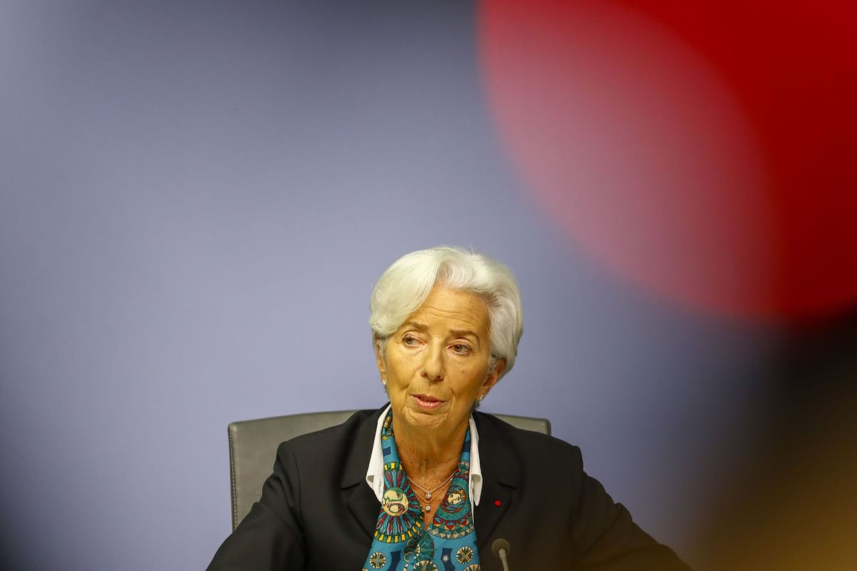 Lagarde Marks ECB Policy Debut With Optimistic Note for Economy