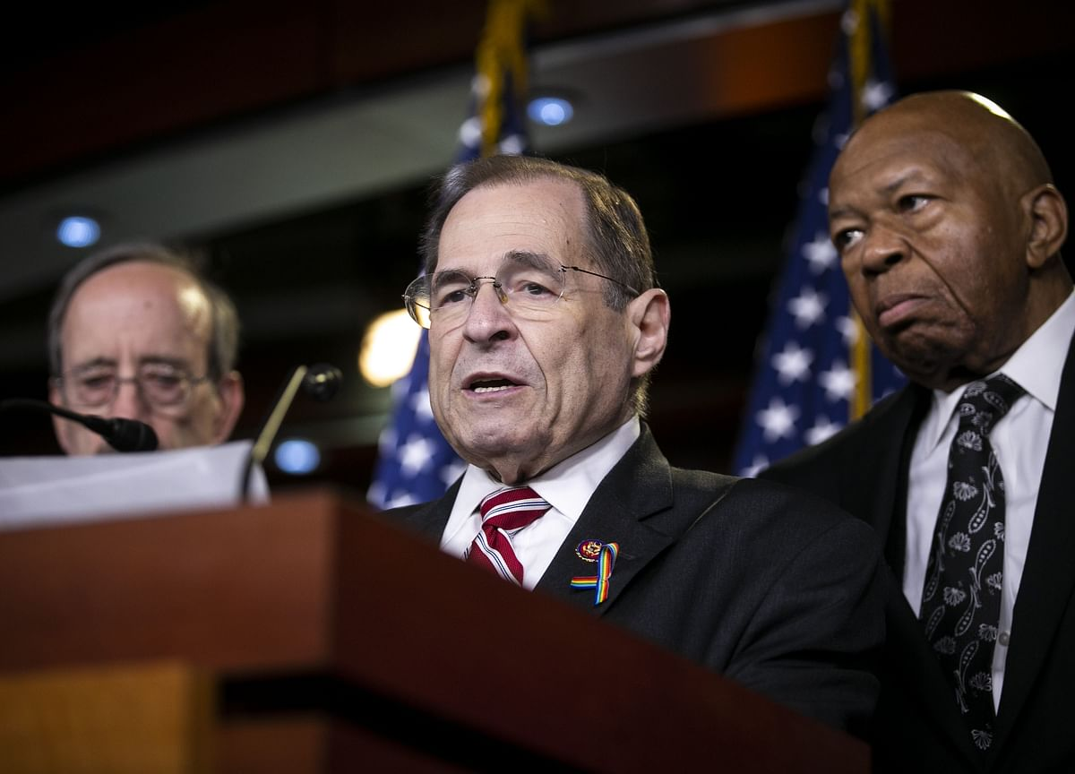 Nadler Says Without Impeachment, Trump May 'Rig' 2020 Vote