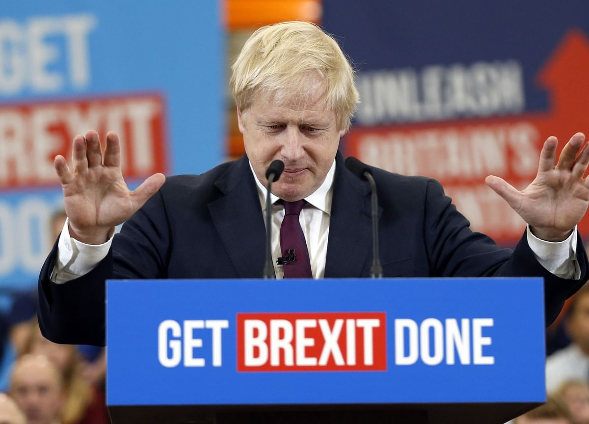 Key Poll Predicts Majority of 28 for Boris Johnson in U.K. Election