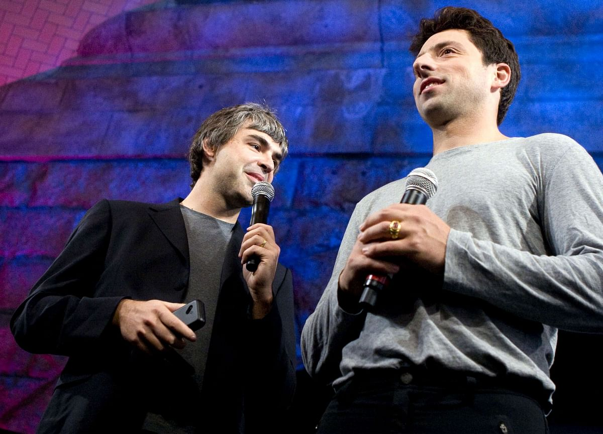 Google Founders Larry Page and Sergey Brin Stepping Down at Alphabet