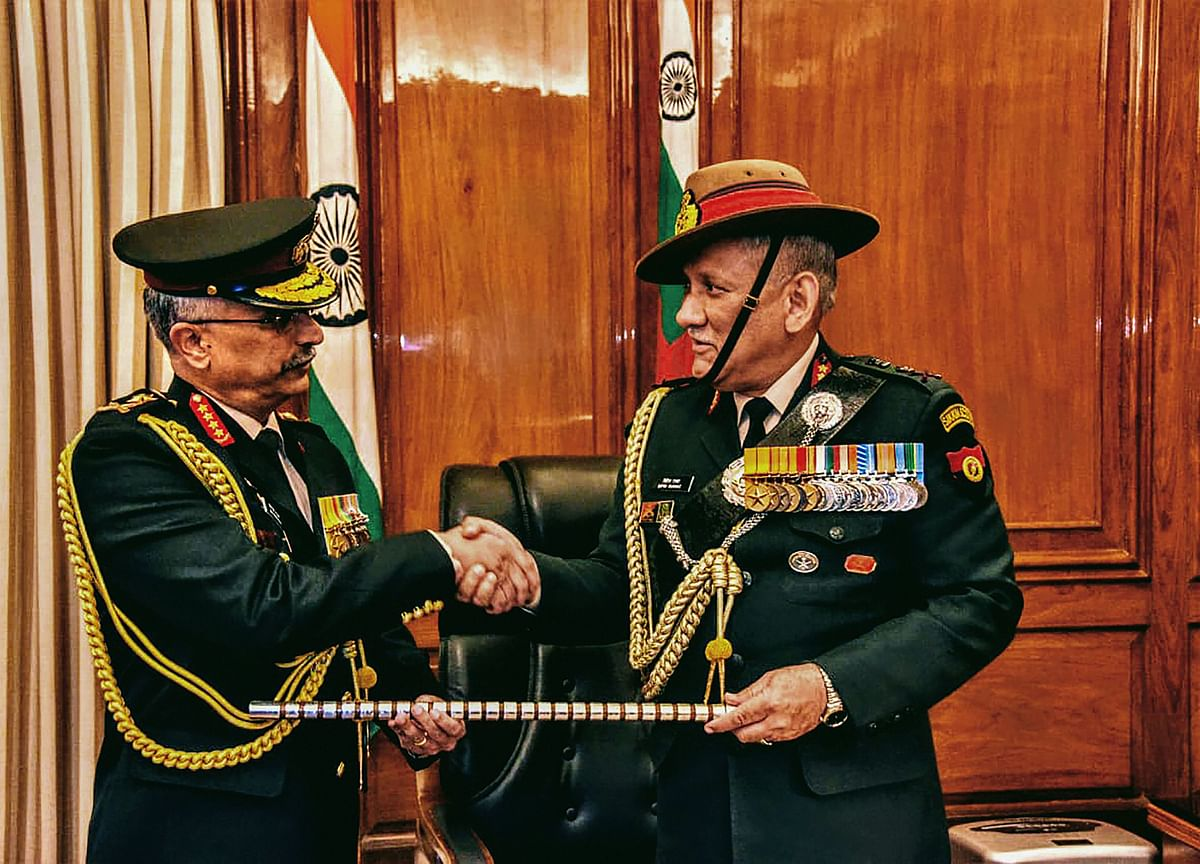Government Creates New Department Of Military Affairs Headed By Chief Of Defence Staff