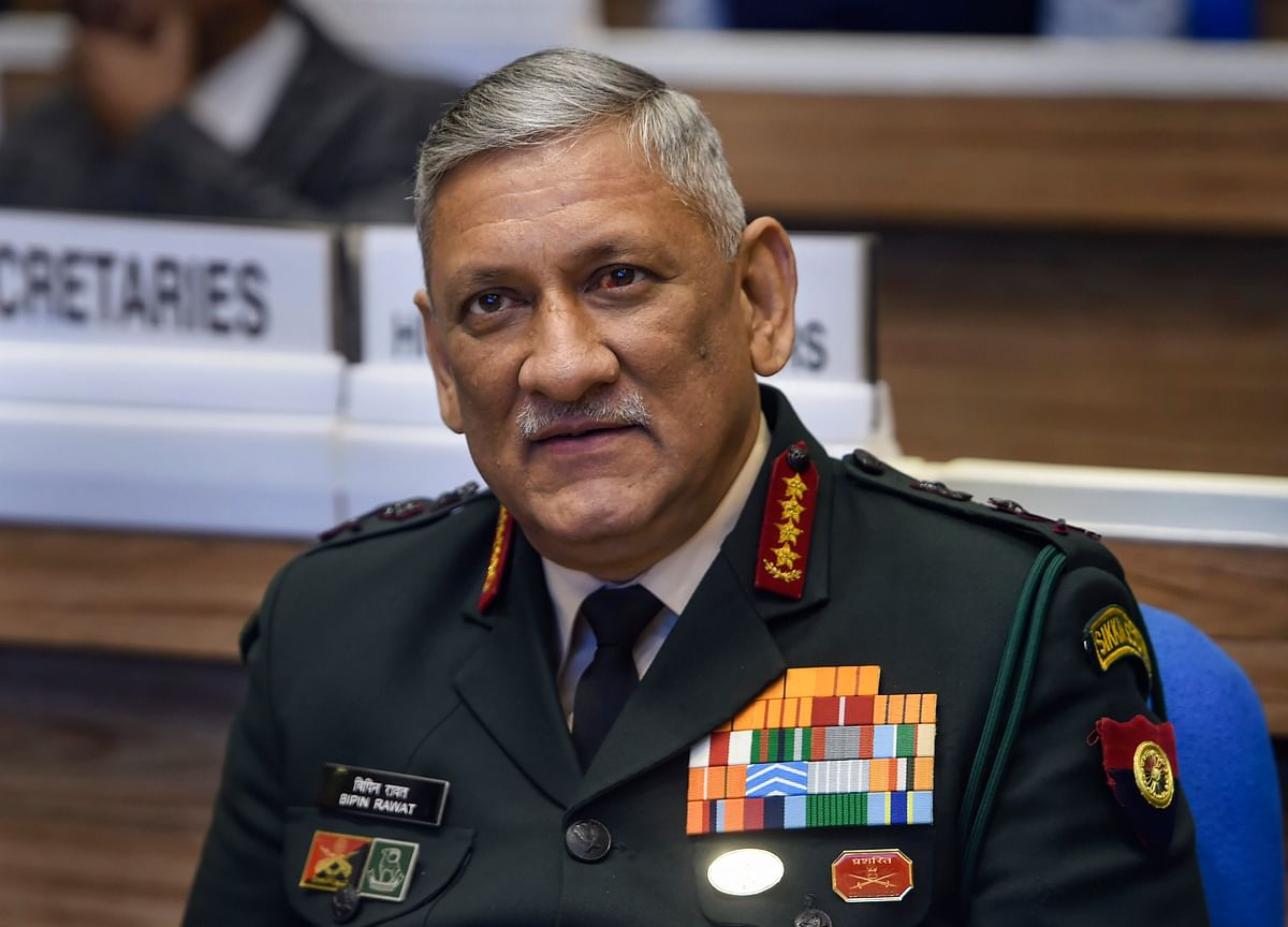 General Bipin Rawat Appointed India's First Chief Of Defence Staff