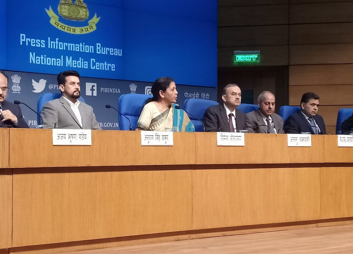 Nirmala Sitharaman Press Conference: Finance Ministry Officials Speak On Steps Taken To Boost Economy