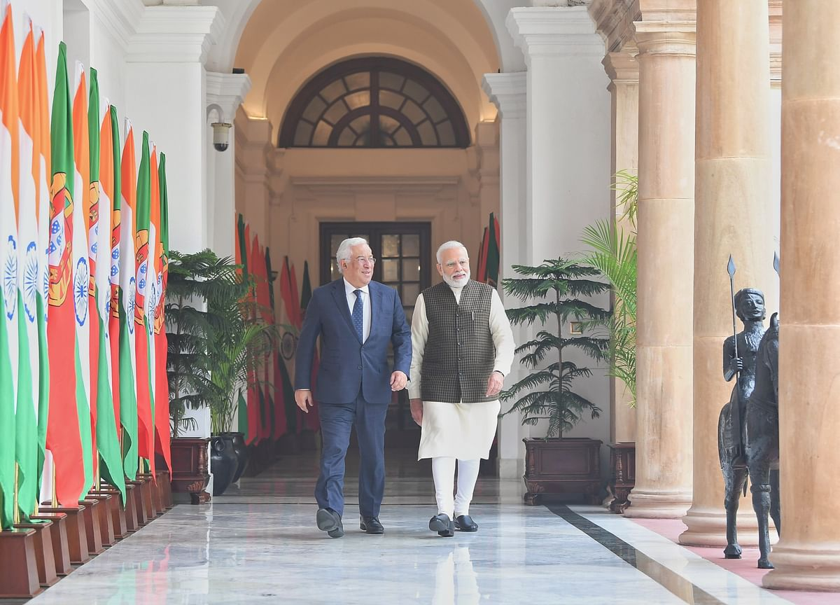PM Modi Meets Portuguese PM, Discusses Broader Roadmap For Strengthening Bilateral Relations