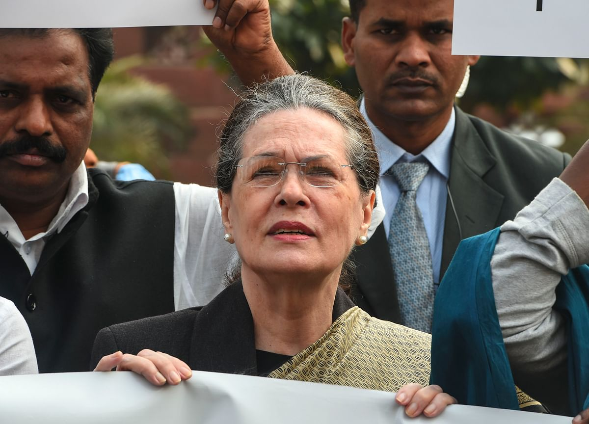 Citizenship Amendment Act: Government Shutting Down People's Voices, Says Sonia Gandhi
