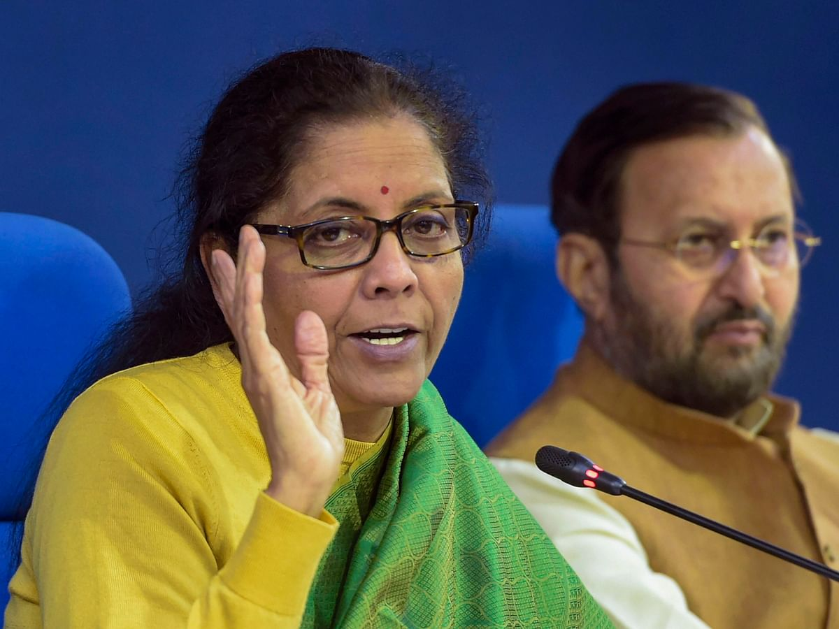 Finance Minister Sitharaman Says Telecom Department Actively Engaging With Firms