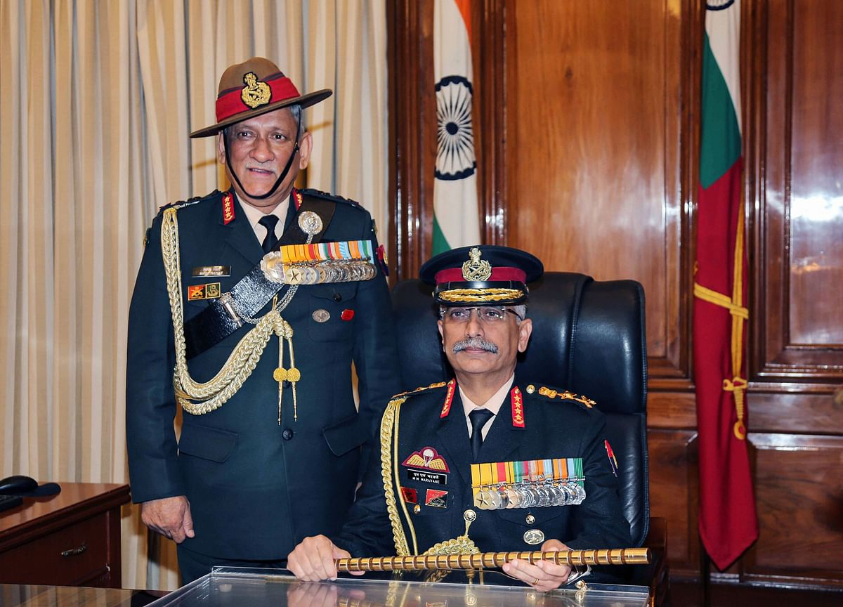 General Mukund Naravane Takes Charge As India's 28th Army Chief